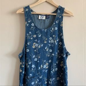 Vintage TY2 Overall Dress